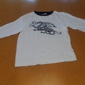 $3/25 Gymboree dragon print longsleeve shirt.